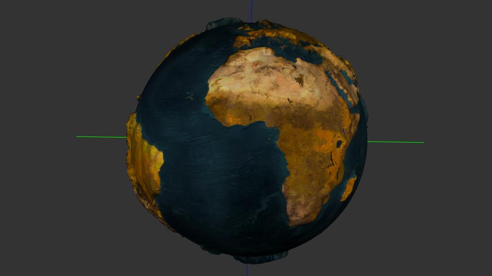 screenshot GeoElevationGrid